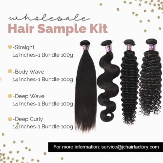 Virgin Hair Sample Pack V - 4 Patterns