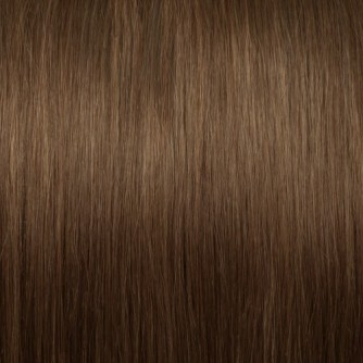 Straight 8# Light Brown Remy I Tip Hair Extensions