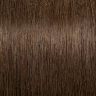 Straight 4# Chocolate Brown I Tip Hair Extensions