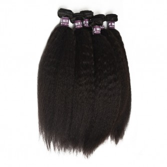 Indian Kinky Straight Hair Bundles