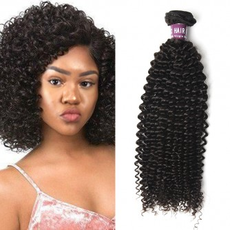 Peruvian Kinky Curly Virgin Hair Weave