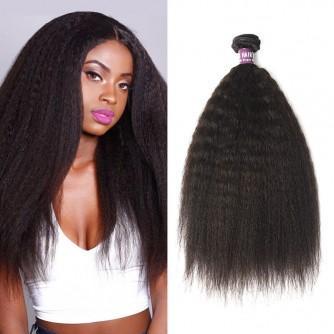 Brazilian Kinky Straight Virgin Hair Weave