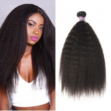 Brazilian Kinky Straight Virgin Hair Weave