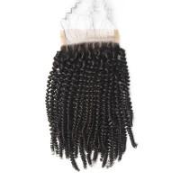 Brazilian Kinky Curly Lace Closure