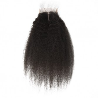 Peruvian Kinky Straight Lace Closure