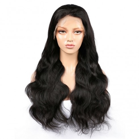 Virgin Brazilian Hair Body Wave Lace Front Wigs