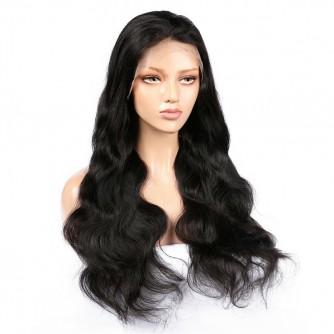 Virgin Brazilian Hair Body Wave Lace Front Wigs