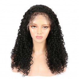 Virgin Brazilian Hair Curly Lace Front Wigs