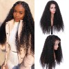 Brazilian Virgin Human Hair Curly Lace Front Wigs