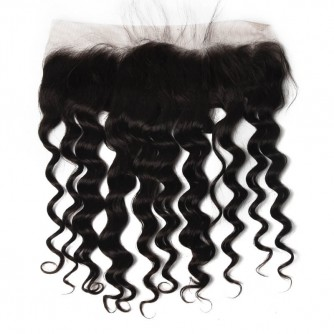 Brazilian Loose Curly Lace Frontal