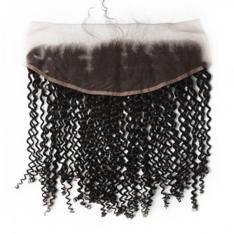 Indian Kinky Curly Lace Frontal