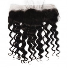 Indian Loose Curly Lace Frontal