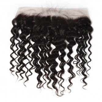 Indian Water Wave Lace Frontal