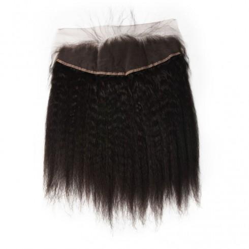 Peruvian Kinky Straight Lace Frontal