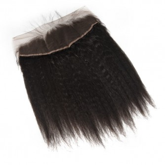 Peruvian Kinky Straight Lace Frontal