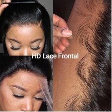 Invisible Straight HD 13X4 Lace Frontal
