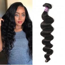 Brazilian Virgin Hair Loose Curly Weave