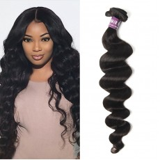 Peruvian Virgin Hair Loose Curly Weave