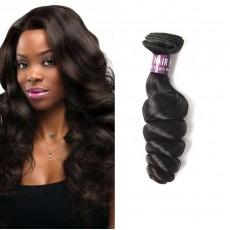 Brazilian Virgin Loose Wave Hair Weave