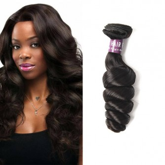 Brazilian Virgin Loose Wave Hair Weave