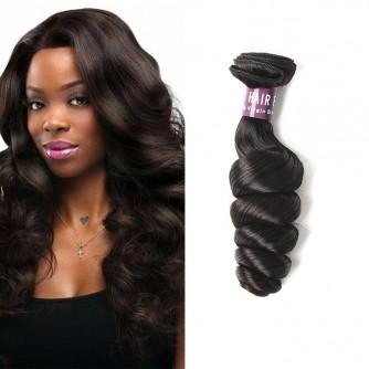 Indian Loose Wave Virgin Hair Weave