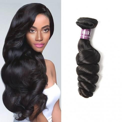 Peruvian Loose Wave Virgin Hair Weave