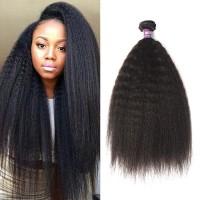 Malaysian Kinky Straight Hair Bundles