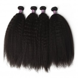 Malaysian Kinky Straight Hair Bundles