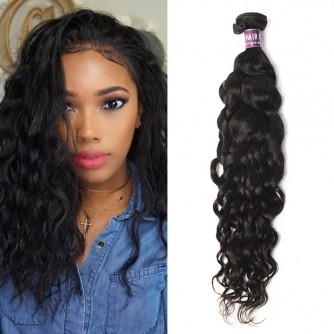 Indian Virgin Hair Natural Wave Weave