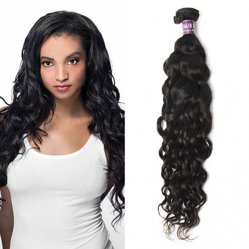 Malaysian Virgin Hair Natural Wave Weave