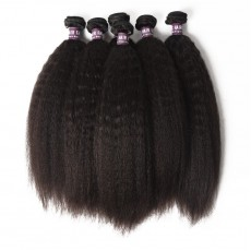 Peruvian Kinky Straight Hair Bundles