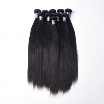 Indian Straight Virgin Hair Weave