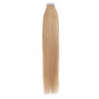 Strawberry Blonde 27# Straight Invisible Tape Hair Extensions