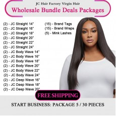 Virgin Hair Package VII for Business Beginners