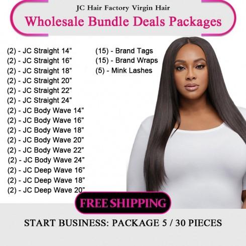 Virgin Hair Package VII for Business Beginners